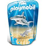 Игровой набор Playmobil Молотоголовая акула с детенышем, 2 детали