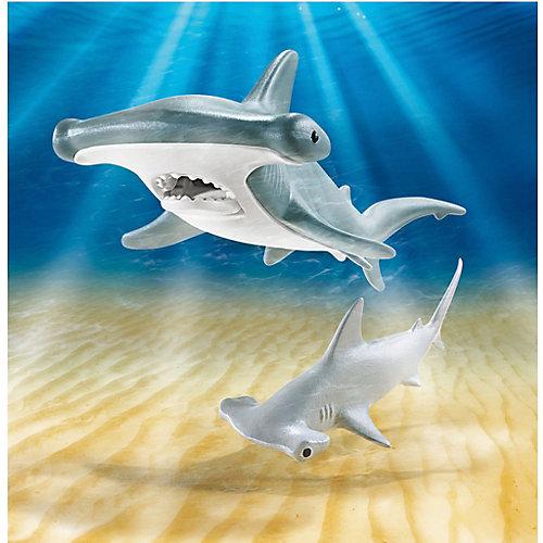 Игровой набор Playmobil Молотоголовая акула с детенышем, 2 детали от PLAYMOBIL®