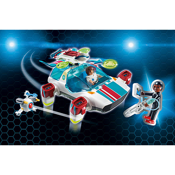 PLAYMOBIL® 9002 FulguriX mit Agent Gene, PLAYMOBIL Super 4