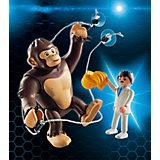 Конструктор Playmobil Гигантский обезьяний гонг
