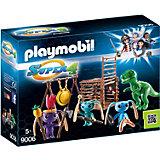 Конструктор Playmobil Инопланетный воин с Т-рекс ловушкой