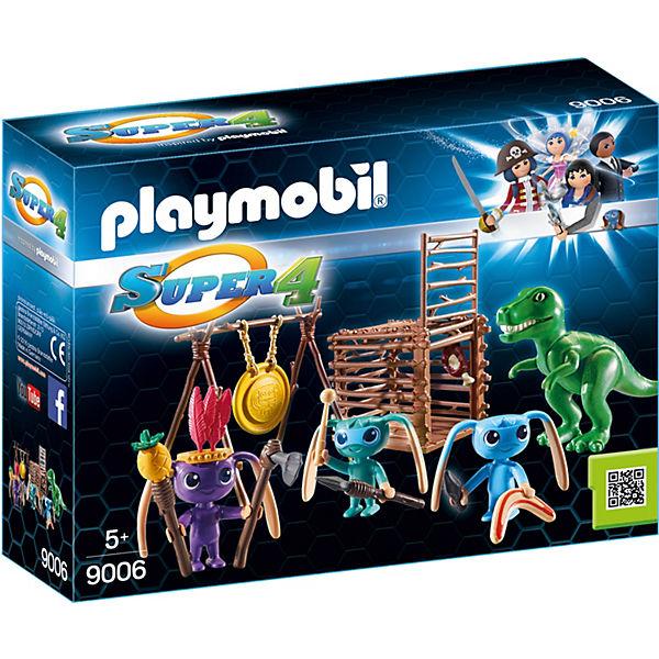 Playmobil 9006 Alien Krieger Mit T Rex Falle Playmobil Super 4