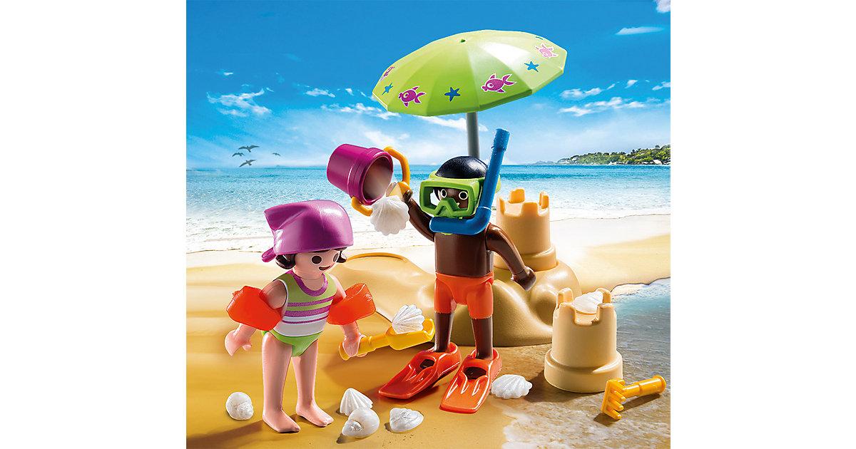 PLAYMOBIL® 9085 Kids mit Sandburg