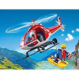 Конструктор Playmobil Вертолет горноспасателей, 6 деталей