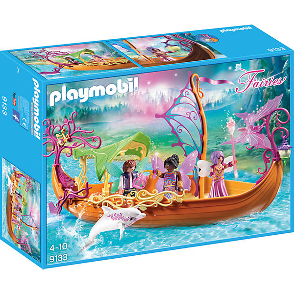 playmobil 9133 romantisches feenschiff playmobil fairies mytoys. Black Bedroom Furniture Sets. Home Design Ideas