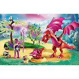 Конструктор Playmobil Дружелюбный дракон с ребенком, 20 деталей