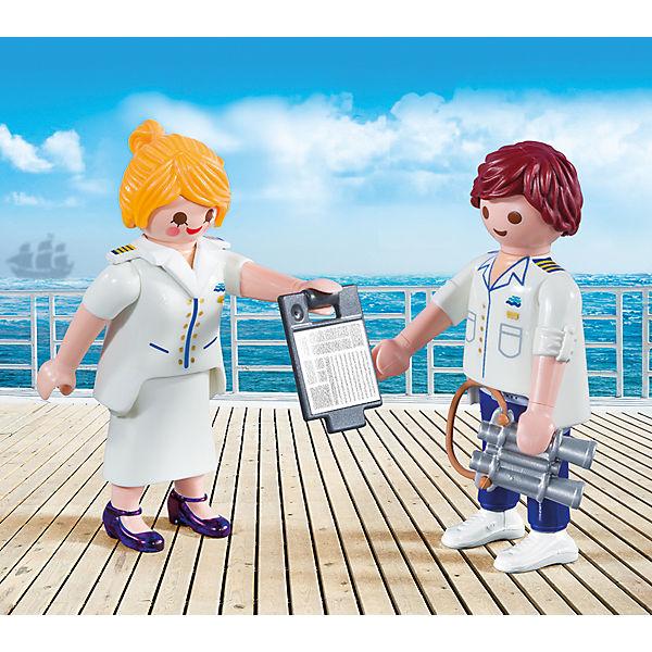 Конструктор Playmobil Капитан круизного корабля, 4 детали