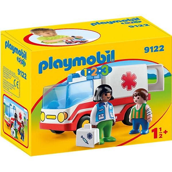 Конструктор Playmobil Скорая помощь, 4 детали