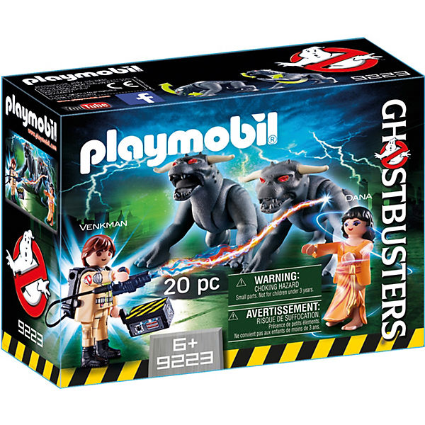 Playmobil 9223 Ghostbuster Venkman Und Terror Dogs Playmobil