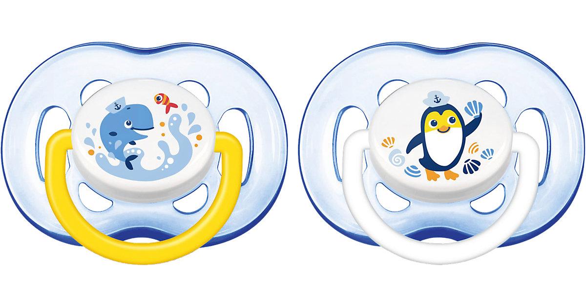 Philips AVENT · PHILIPS AVENT Schnuller SCF186/24 Freeflow ab 18 Monate + für Jungen