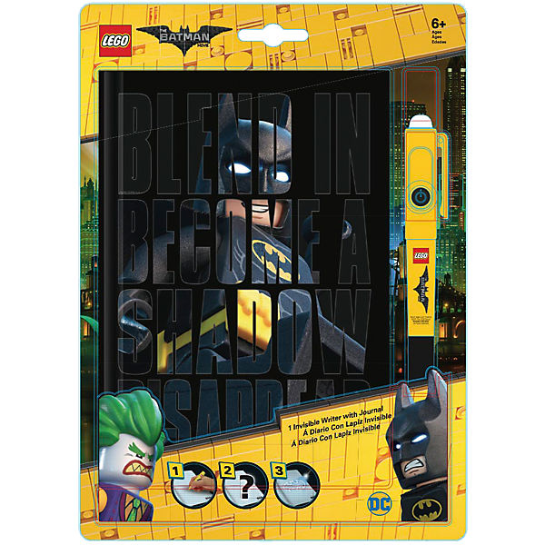 LEGO Batman Movie Notizbuch mit Geheimstift