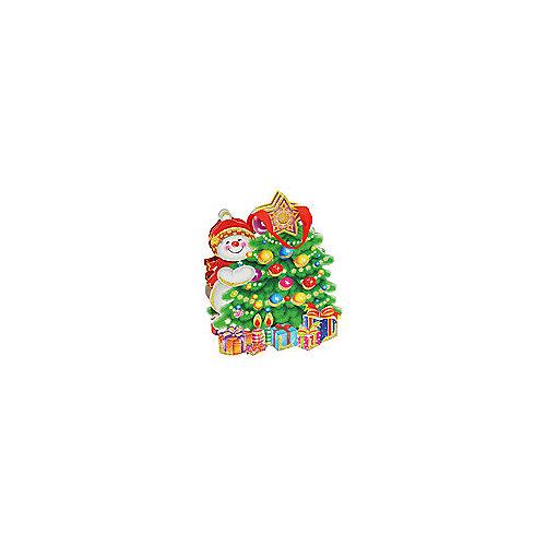 "Пакет ""Снеговик и елка"" от Белоснежка"