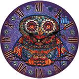 """Часы настенные """"Волшебная сова"""", диаметр 34 см"""
