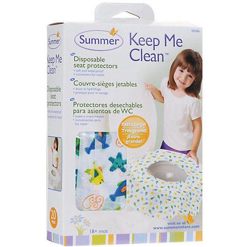 Защитная накладка на унитаз Keep Me Clean от Summer Infant