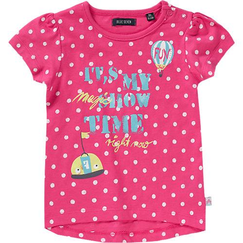 BLUE SEVEN Baby T-Shirt Gr. 80 Mädchen Kleinkinder Sale Angebote Schwarzbach