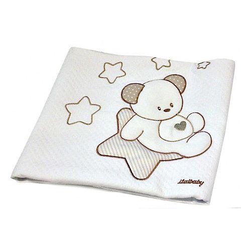 Покрывало Sweet Star 65х80 пике, Italbaby, крем от Italbaby