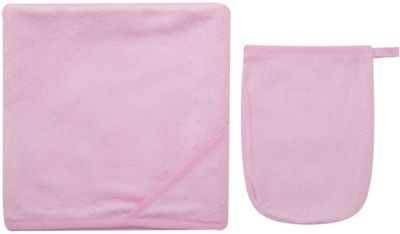 Махровое полотенце 100/100, Italbaby, розовый