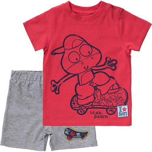 Blue Seven Baby Set T-Shirt + Shorts Gr. 68 Jungen Baby | 04055851523150