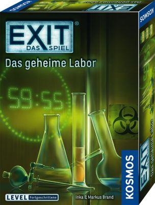 KENNERSPIEL DES JAHRES 2017 - EXIT - Das Spiel - Das geheime Labor - Level Fortgeschrittene