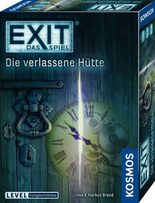 KENNERSPIEL DES JAHRES 2017 - EXIT - Das Spiel - Die verlassene Hütte - Level Fortgeschrittene