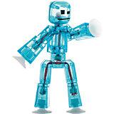 Игрушка-фигурка, синяя, Stikbot