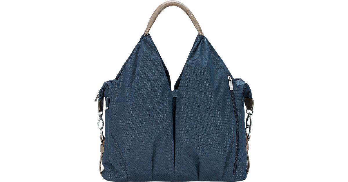 LÄSSIG · LÄSSIG Green Label Neckline Bag Spin Dye blue melange