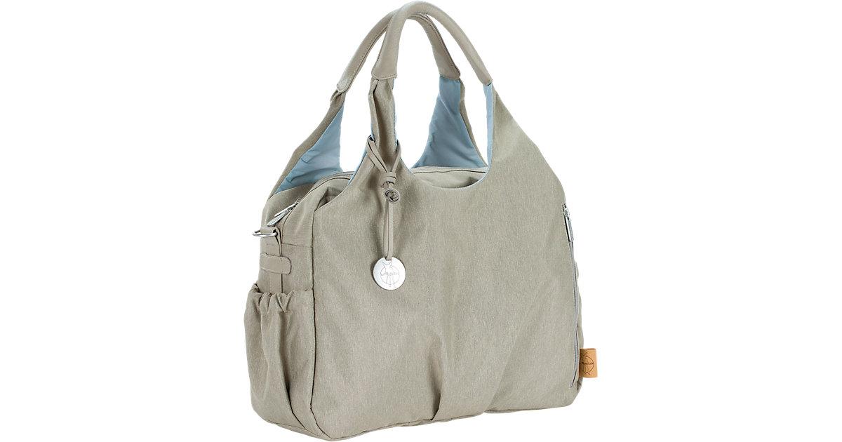 LÄSSIG · LÄSSIG Wickeltasche Green Label Global Bag Ecoya sand