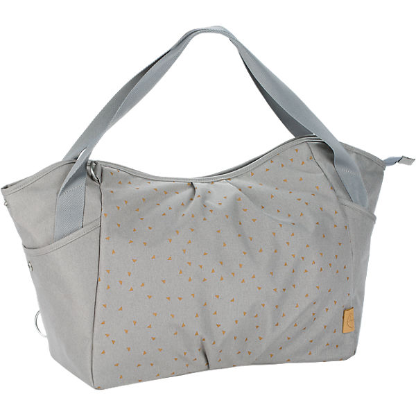Zwillings - Wickeltasche Casual, Twin Bag, Triangle Light Grey