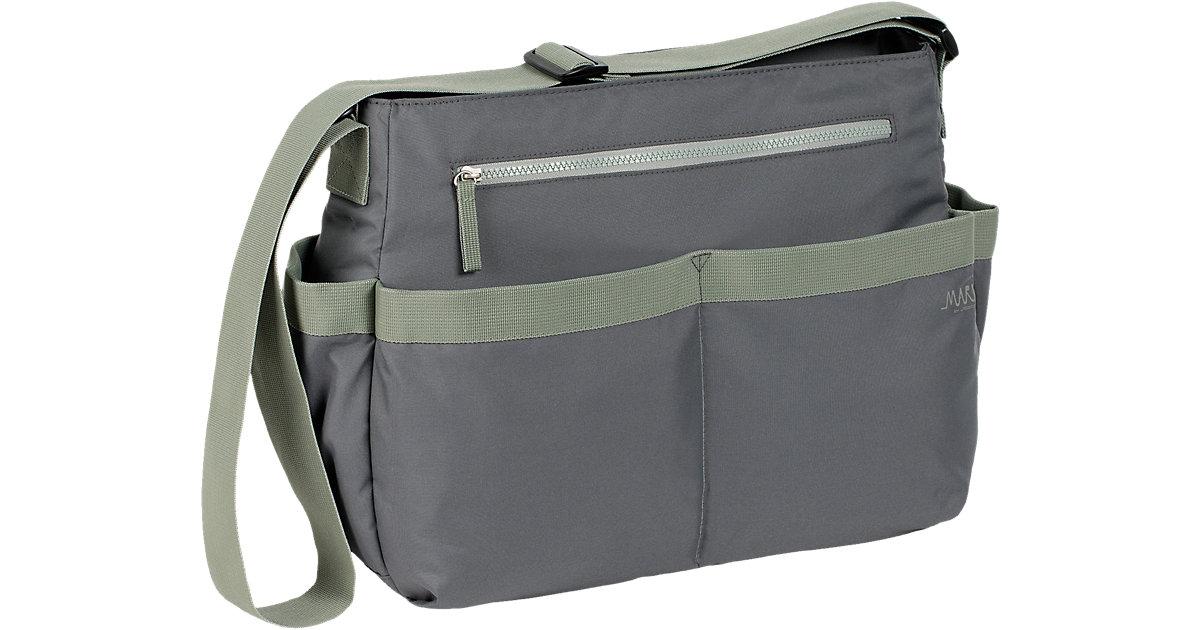 Wickeltasche Marv, Shoulder Bag, grey