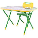 Набор мебели Дэми Дошколёнок Чиполлино (3-7 лет), зеленый