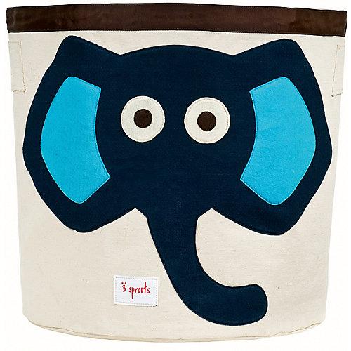 Корзина для хранения 3 Sprouts Слон, синий - синий от 3 Sprouts