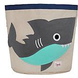 Корзина для хранения Акула (Grey Shark SPR213), 3 Sprouts, серый