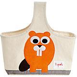 Сумочка для хранения детских принадлежностей Бобр (Orange Beaver), 3 Sprouts
