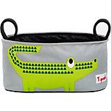 Сумка-органайзер для коляски Крокодил (Green Crocodile), 3 Sprouts