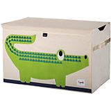 Сундук для хранения игрушек 3 Sprouts Крокодил