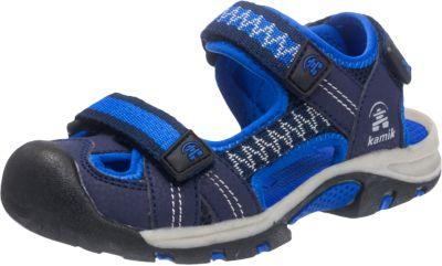 Kamik Kids Crab Blau, Kinder Sandale, Größe EU 30 - Farbe Blue
