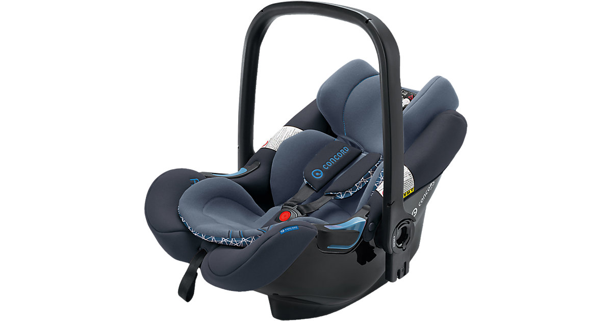 Concord · CONCORD Babyschale Air.Safe inklusive Clip Deep Water Blue