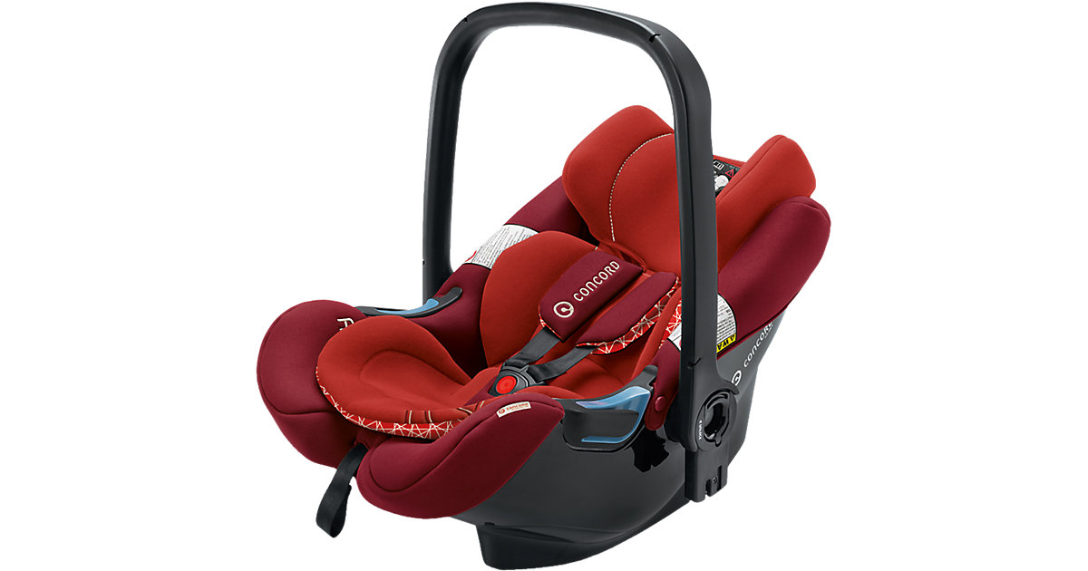 CONCORD Babyschale Air.Safe inklusive Clip Flaming Red