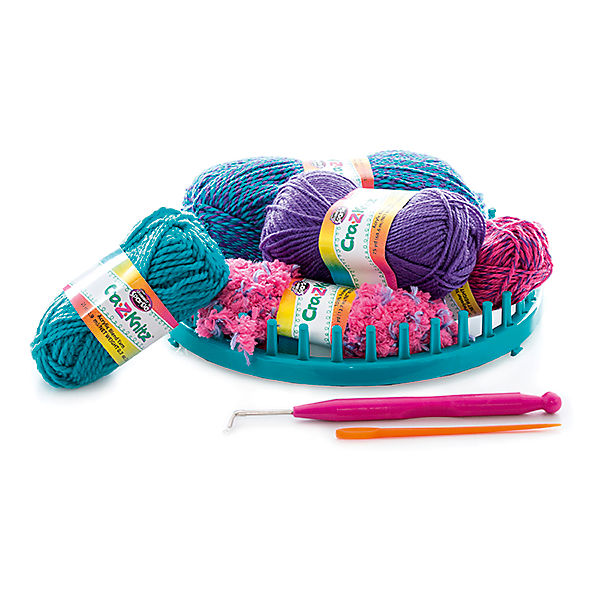 Набор для вязания Cra-Z-Knitz - Модная шапочка