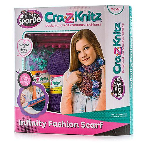 Набор для вязания Cra-Z-Knitz - Шарф-хомут