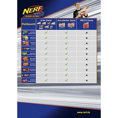 "Стрелы Hasbro Nerf ""Аккустрайк"", 12 стрел от Hasbro"