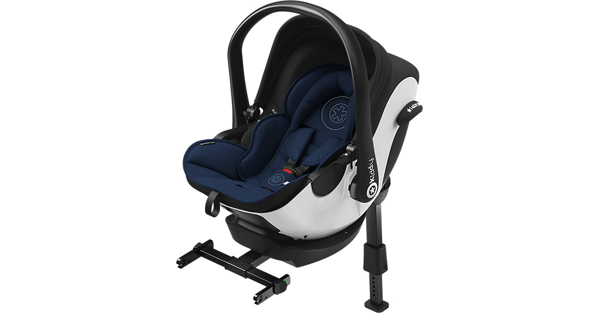 Kiddy Babyschale Evoluna i-Size Night Blue inklusive Isofix Base 2