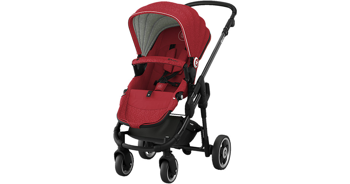 Kiddy · Sportwagen Evoglide 1, ruby red, 2017