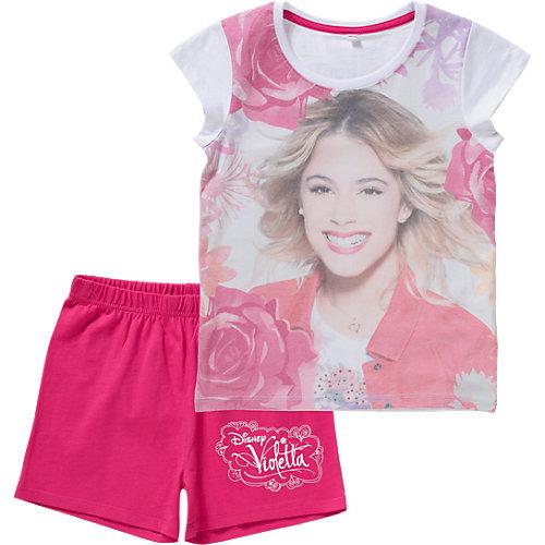 Disney Violetta Schlafanzug Gr. 128/134 Mädchen Kinder | 04052384187682