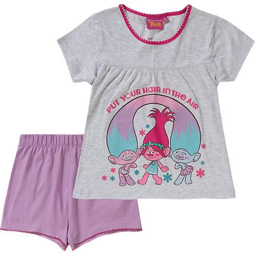 Trolls Schlafanzug Gr. 116/122 Mädchen Kinder | 04052384187149