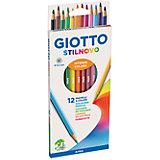 Цветные карандаши, 12 шт.
