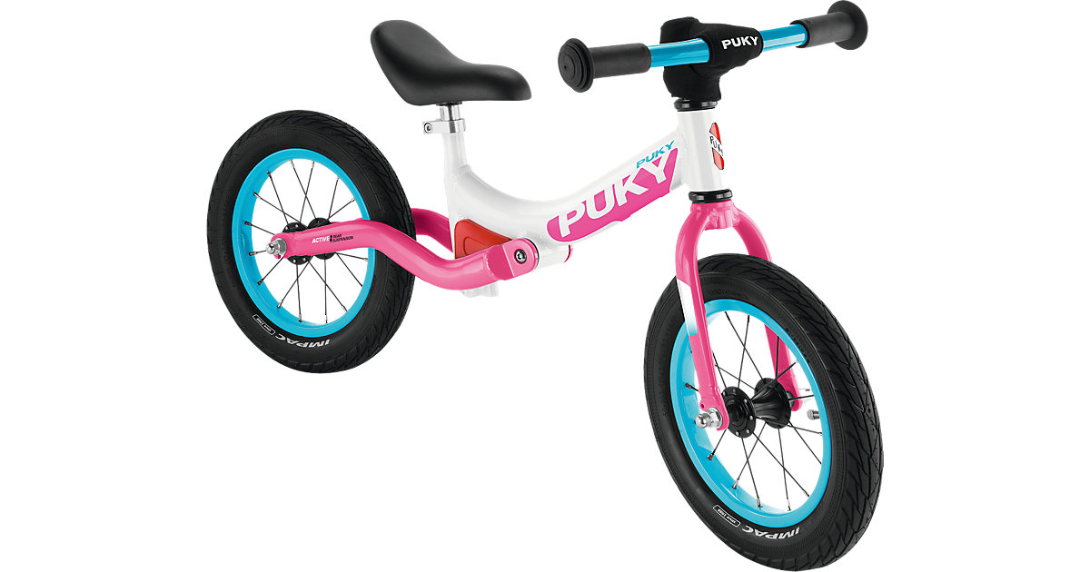 Laufrad LR Ride, weiß-pink Gr. 12,5