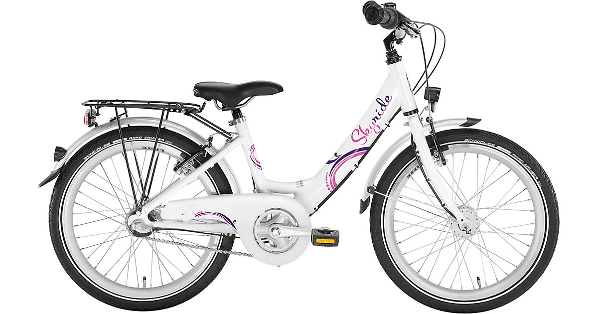 Fahrrad SKYRIDE 20-3 Alu, weiß