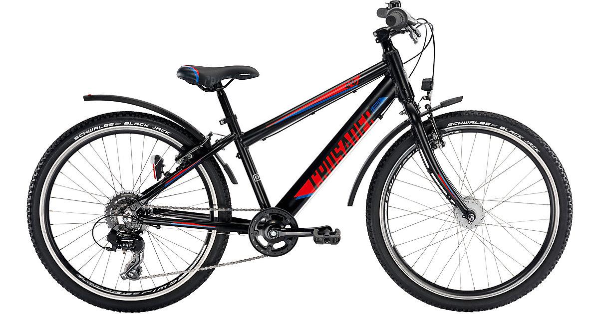 Fahrrad CRUSADER 24-8 Alu Active light, schwarz