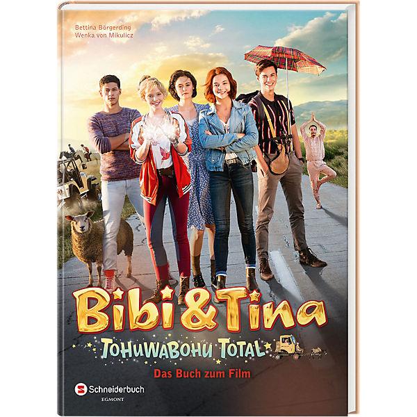 bibi  tina tohuwabohu total buch zum film teil 4